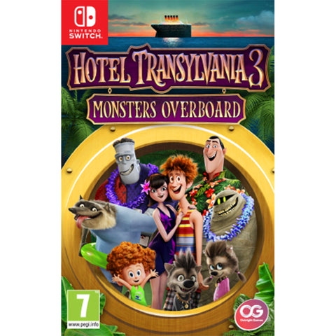 Hotel Transylvania 3: Monsters Overboard - Switch