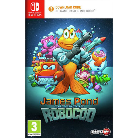 James Pond Codename Robocod CODE-IN-A-BOX - Switch