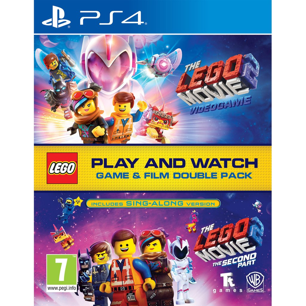 Lego Movie 2 Game & Film Double Pack - PS4