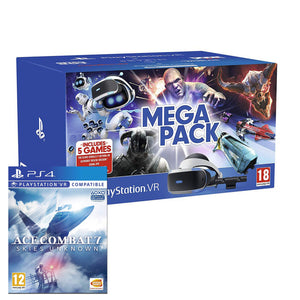 Sony PlayStation VR Mega Pack + Ace Combat 7: Skies Unknown