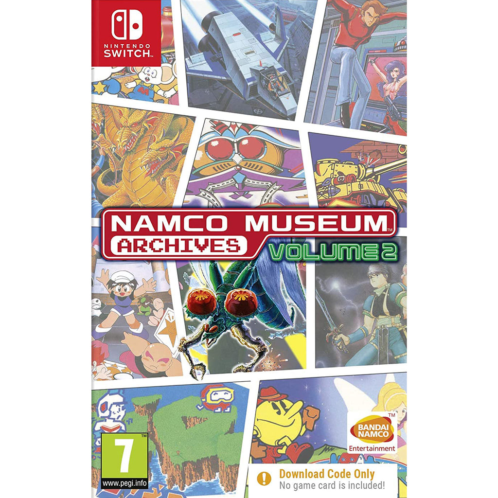 Namco Museum Archives Volume 2 - switch