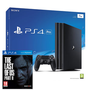 Sony PlayStation 4 Pro (1TB) + The Last Of Us Part II