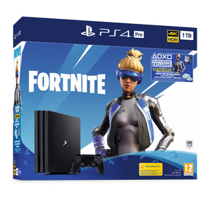 SONY PLAYSTATION 4 PRO (1TB) FORTNITE NEO VERSA BUNDLE + EXTRA DUALSHOCK CONTROLLER
