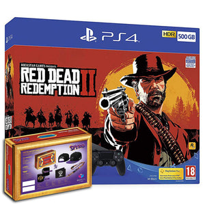 Sony PlayStation 4 (500GB) + Red Dead Redemption 2 + Spyro Loot Crate