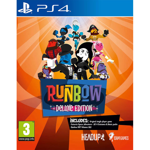 Runbow: Deluxe Edition - PS4