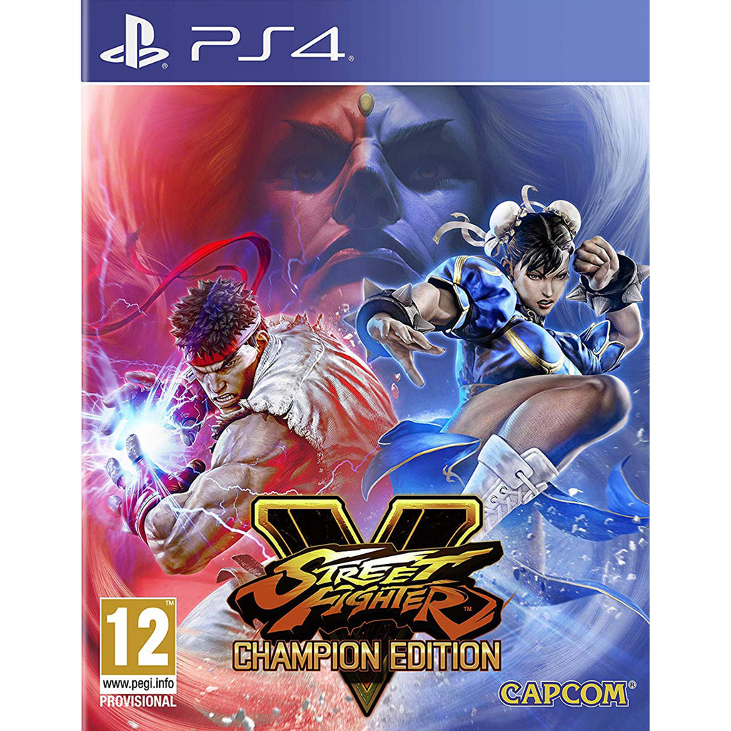 street fighter v champion edition logo