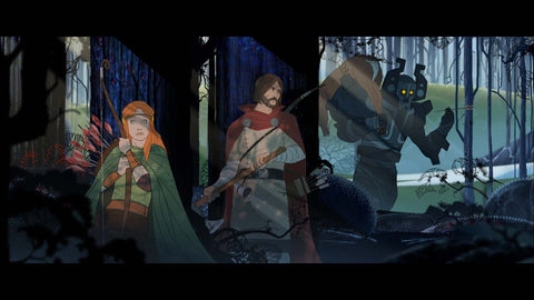 The Banner Saga Trilogy Bonus Edition - PS4