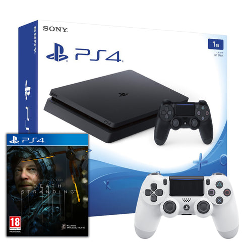 Sony Playstation 4 (1TB) + Death Stranding