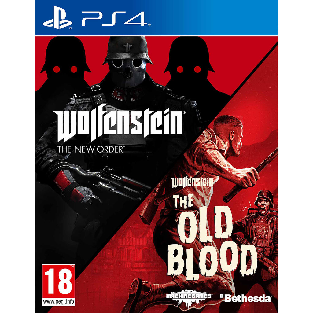 Wolfenstein: The New Order and The Old Blood Double Pack - PS4