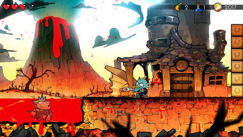 Wonder Boy: The Dragon's Trap - Switch