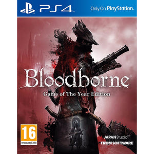 Bloodborne - Game of the Year - PS4