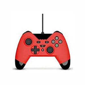 Gioteck Wx4 Wired Red Controller (Switch, PS3 & PC)