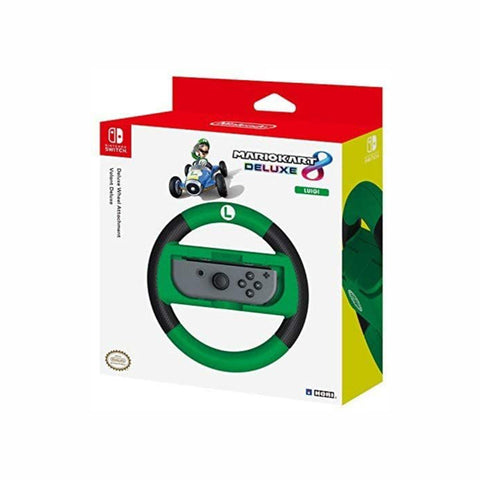 Hori Mario Kart 8 Deluxe - Luigi Racing Wheel - Controller for Switch