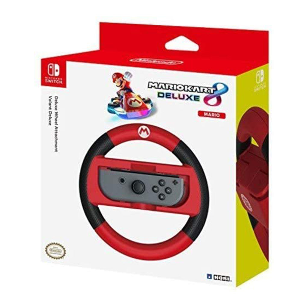 Hori Mario Kart 8 Deluxe Mario Racing Wheel - Switch