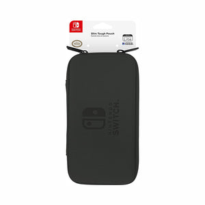 Nintendo Switch Lite Slim Hard Pouch Black - Switch