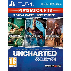 Uncharted: The Nathan Drake Collection - PS4 PlayStation Hits