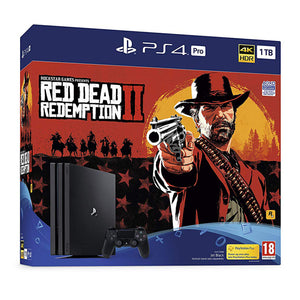 Sony PlayStation 4 Pro (1TB) + Red Dead Redemption 2