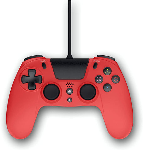 Gioteck VX4 Wired Red Controller (PS4 & PC)