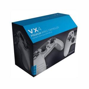 Gioteck VX-4 Wired Controller - Titanium (PS4 & PC)