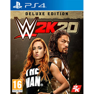 WWE 2K20 Deluxe Edition - PS4