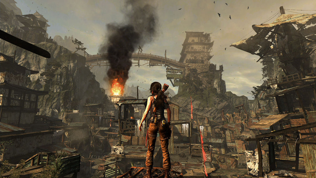 Tomb Raider Definitive Edition Ps4 Entertainment Go S Deal Of