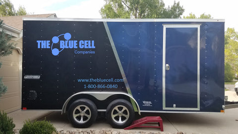 Big Blue Cell Trailer Deployment ICS IMT Training and Exercise