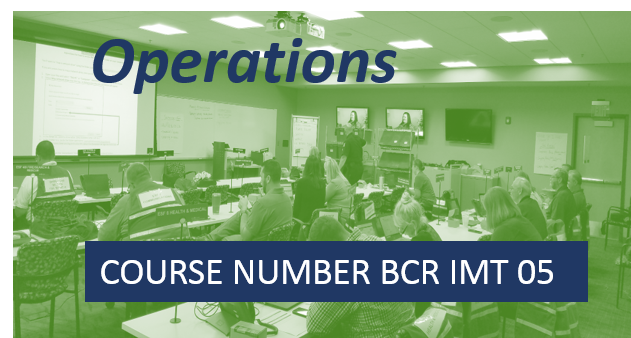 BCR IMT05- Operations