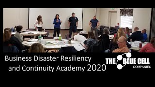 The Business Disaster Resiliency and Continuity Academy -Session 1-4