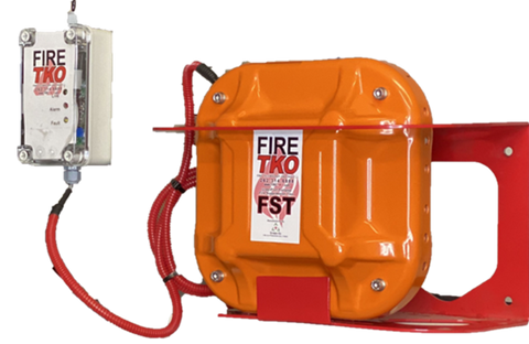 Constant Coverage Fire Suppression System by Fire TKO