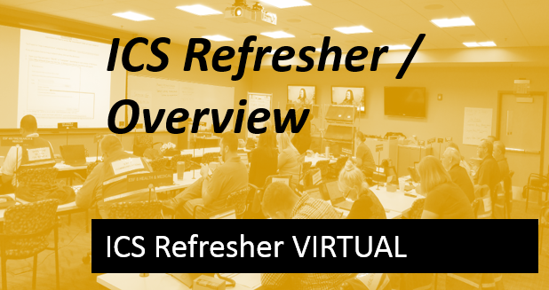 Complete ICS Refresher- Virtual