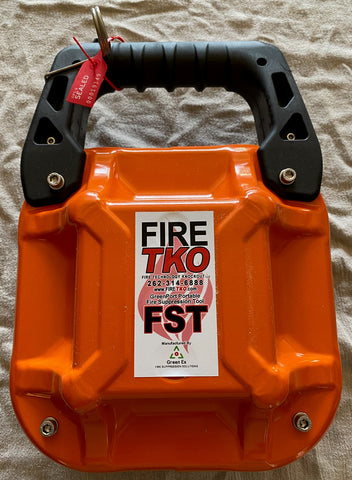 Fire TKO Fire Suppression Tool - Industrial grade, portable fire suppressant