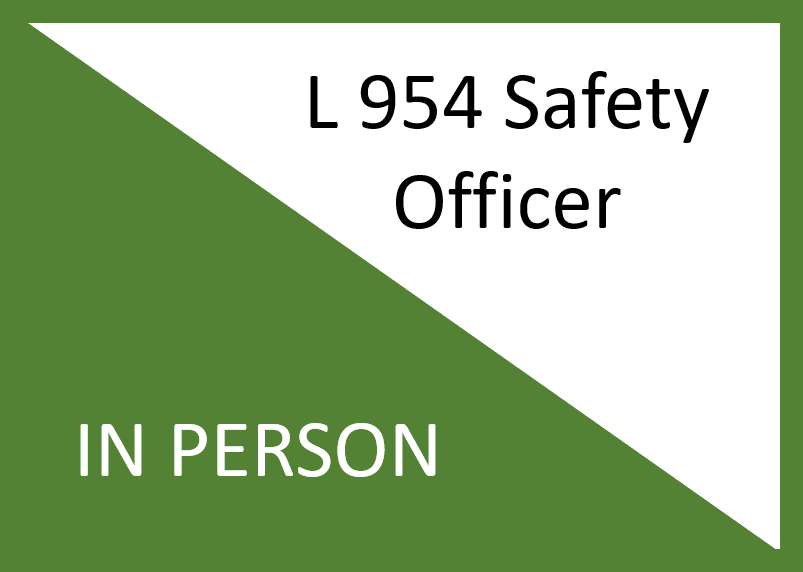 L 954 All-Hazards Position Specific Safety Officer ( In Person )