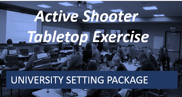 University Series-Active Shooter Tabletop Exercise