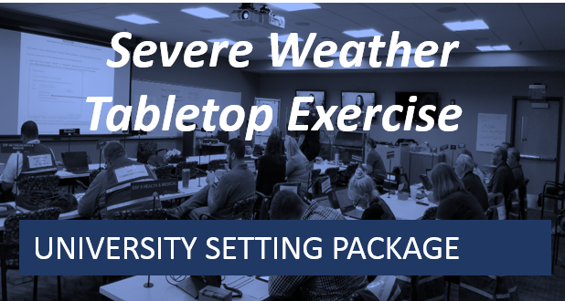 University Series-Severe Weather Tabletop Exercise
