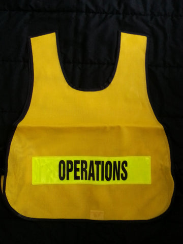 Yellow ICS Vest
