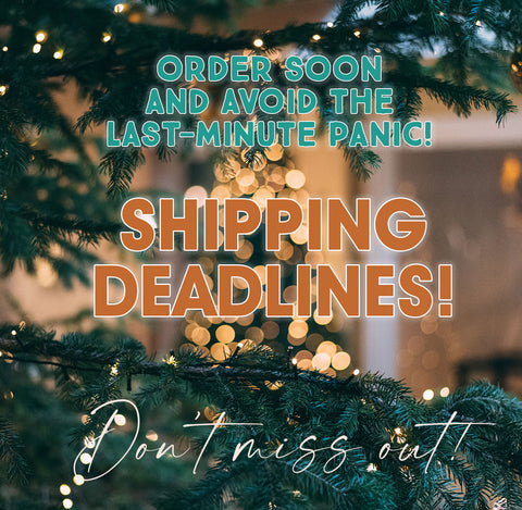 Holiday Shipping Deadlines for 2020