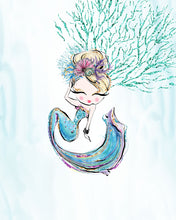Load image into Gallery viewer, mermaid art for girls