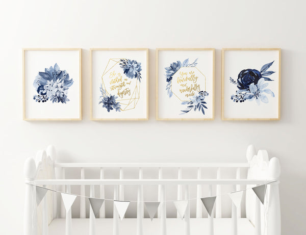 girl nursery wall art