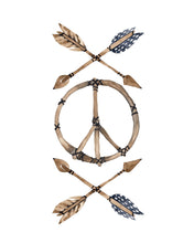 Load image into Gallery viewer, boho peace sign