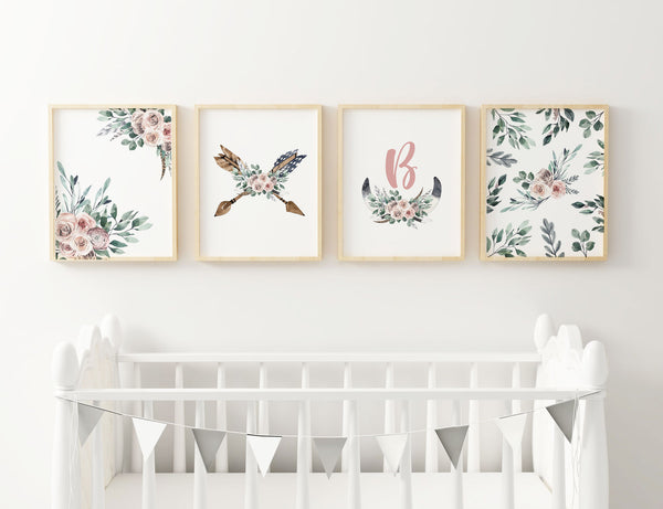 boho chic nursery decor