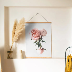 Peonies Romantic Wall Art Photo Print