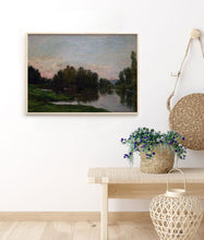 Load image into Gallery viewer, Dawn at the Lake - Wall Print