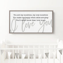 Load image into Gallery viewer, farmhouse nursery sign