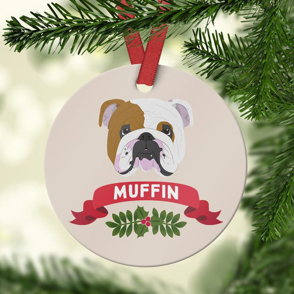 English Bulldog Ornament - Ornament