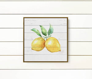 Lemon Kitchen Decor -  Modern Farmhouse - Wood sign - Kitchen Wall art - Wall Decor
