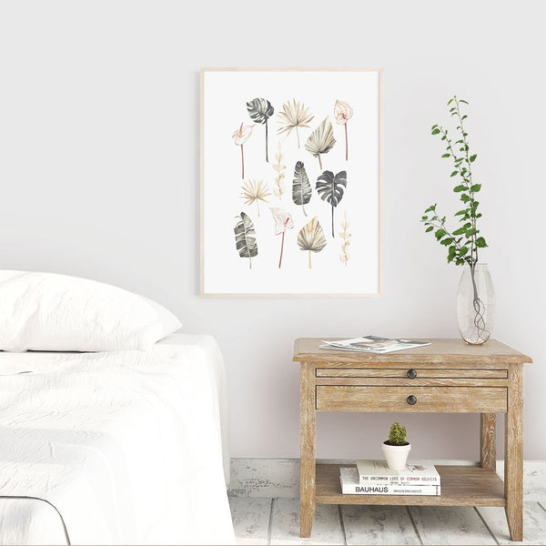 Monstera Botanical Tropical Wall Art