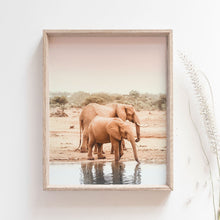 Load image into Gallery viewer, Boho Elephant Photo Print