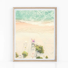 Load image into Gallery viewer, Ariel Beach Wall Art Poster