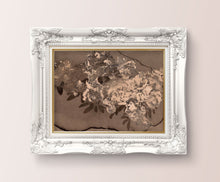 Load image into Gallery viewer, Messy Flower Vintage Floral Wall Art - Dark Modern Bedroom Flowers Wall Prints - Printed and Shipped Reproduction -