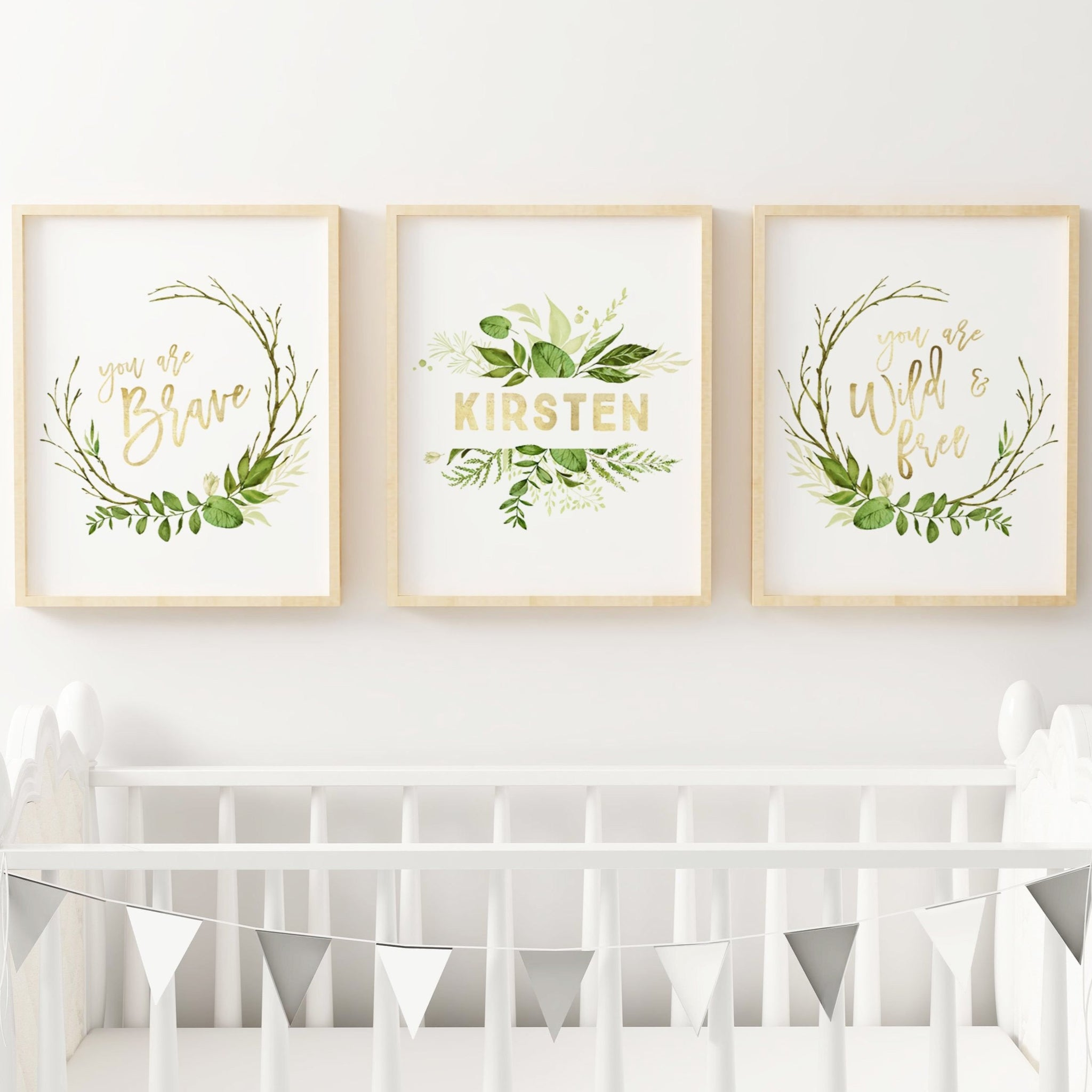 greenery wall art